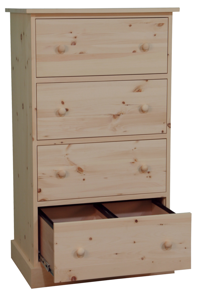 Cottage Letter Size 4 Drawer Filing Cabinet