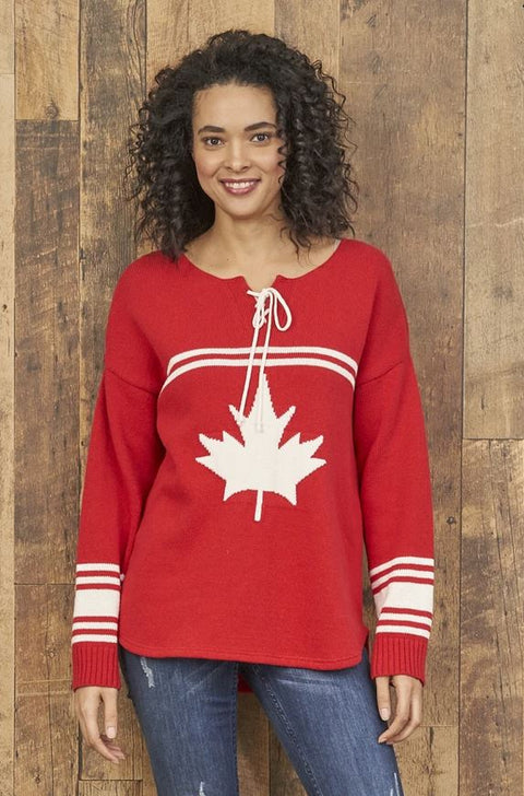 Canada Hockey Sweater Red