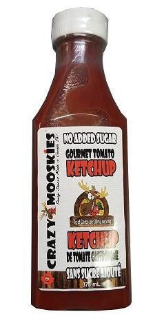 Crazy Mooskies Ketchup - No Sugar Added