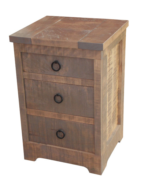 Century 3 Drawer Nightstand