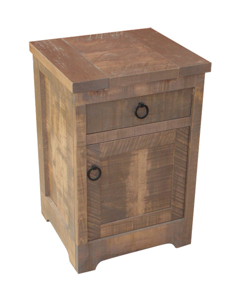 Century 1 Drawer 1 Door Nightstand