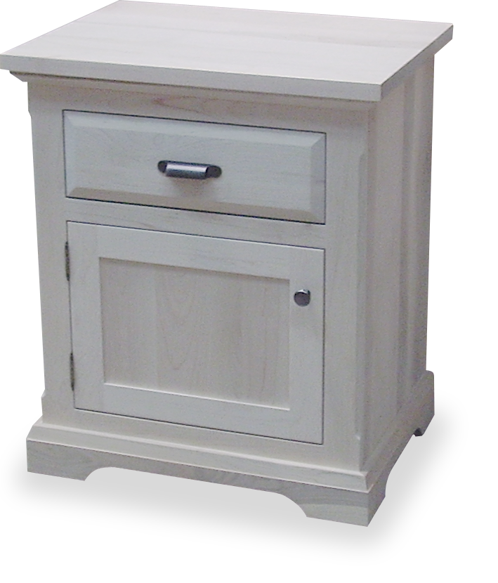 Chateau 1 Drawer 1 Door Nightstand