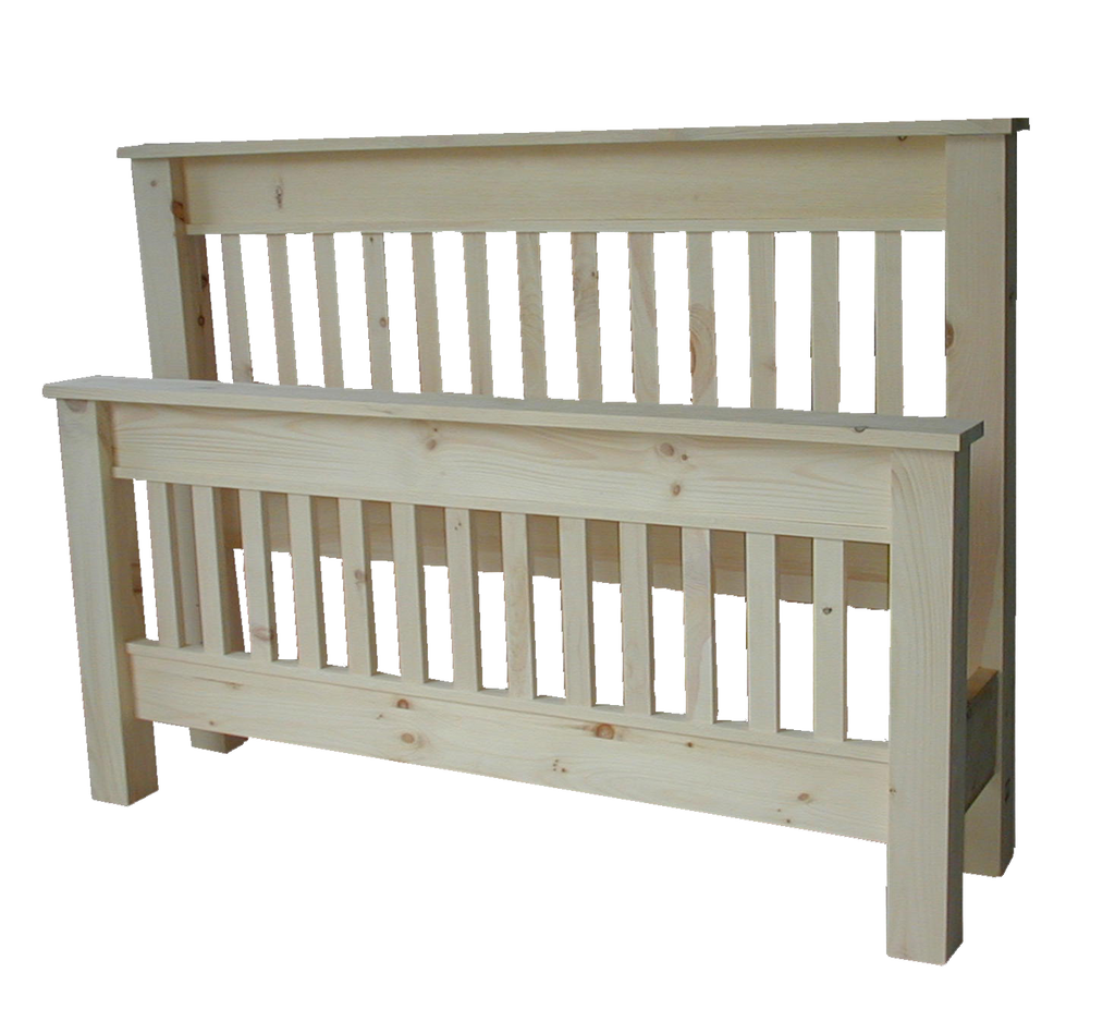 Cottage Slat Bed