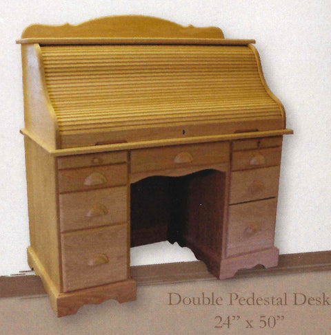 Burkwood Double Pedestal Desk