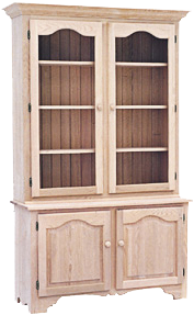 Legacy 2 Long Door Buffet with Hutch