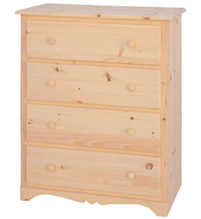 Cambridge 4 Drawer Chest