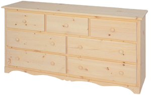 Cambridge 7 Drawer Dresser