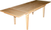 Edinburgh Table with End Extensions