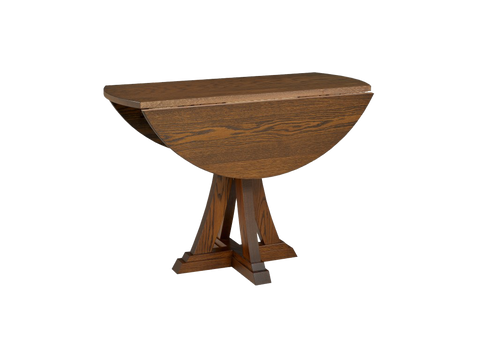 Eiffel Drop Leaf Table with Leaves Down