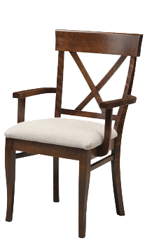 Florence X-Back Arm Chair