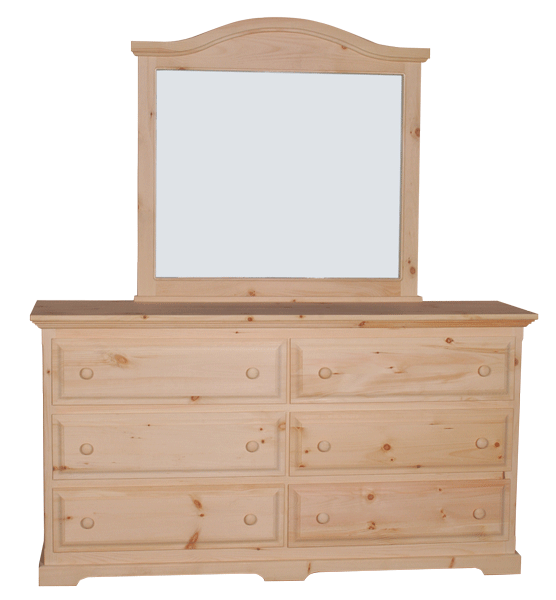 F4 6 Drawer Long Dresser