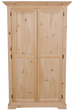 F4 Crown Top 2 Door Armoire