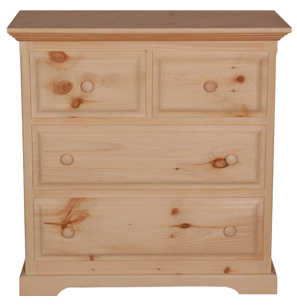 F4 3 Drawer Split Chest