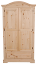 F4 Curve Top 1 Drawer Armoire