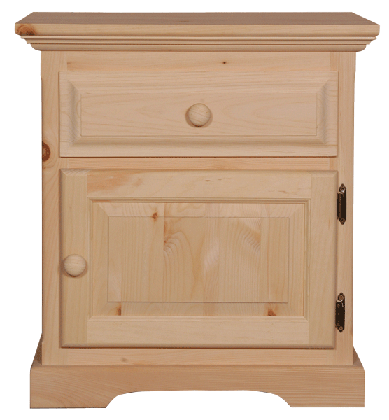 F4 1 Door 1 Drawer Nightstand
