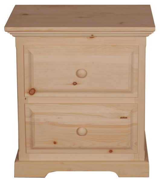 F4 2 Drawer Nightstand