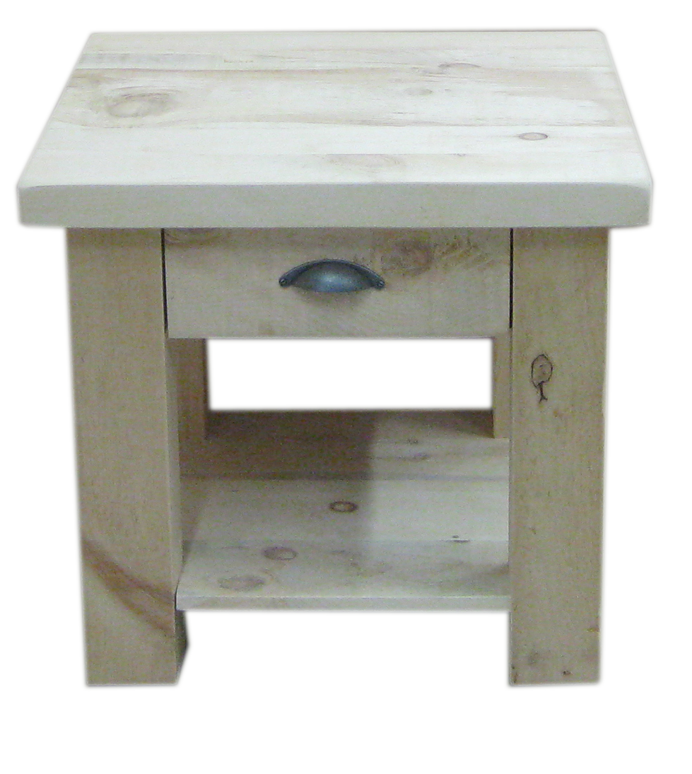 Frontier 1 Drawer End Table