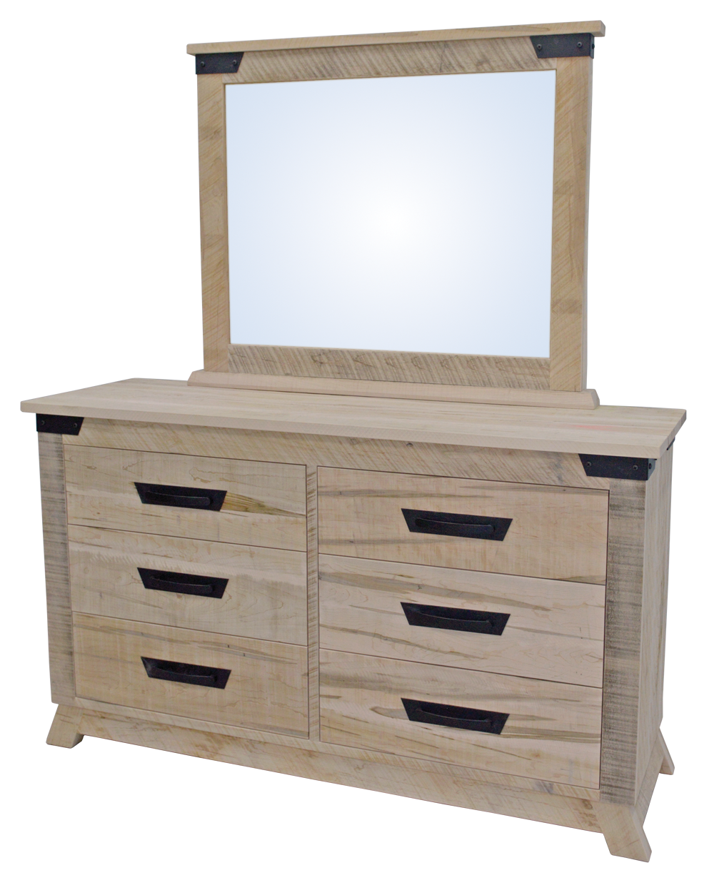 Hamilton 6 Drawer Dresser with Mirror