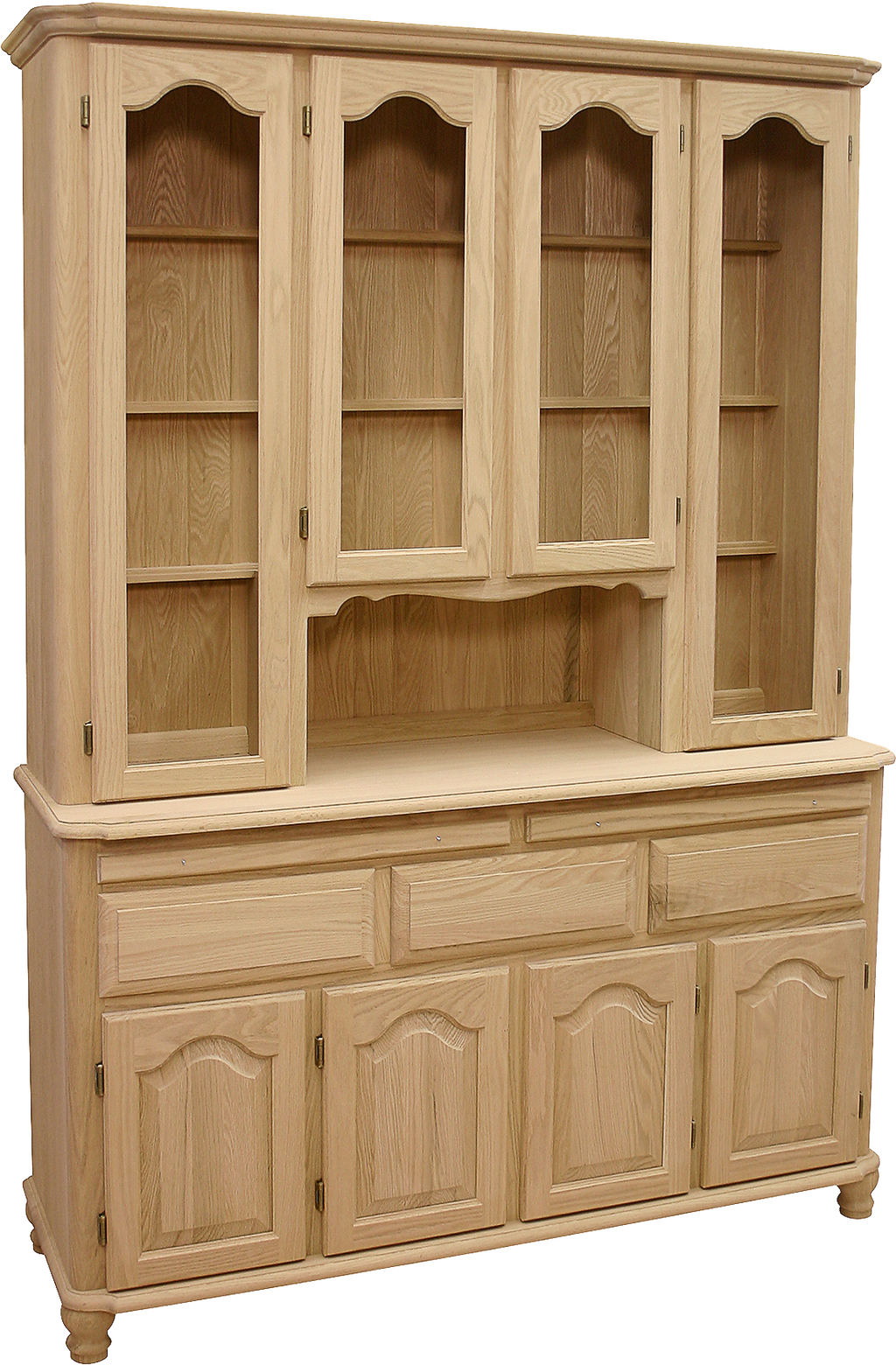 Legacy 4 Door 4 Drawer Buffet with Hutch