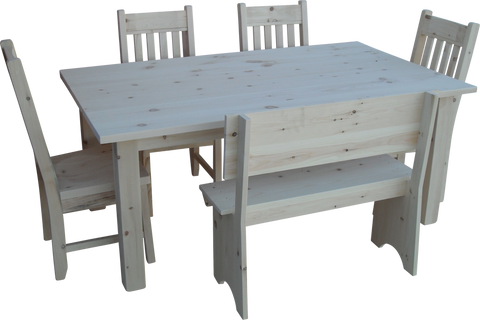Highland Rustic Dining Set