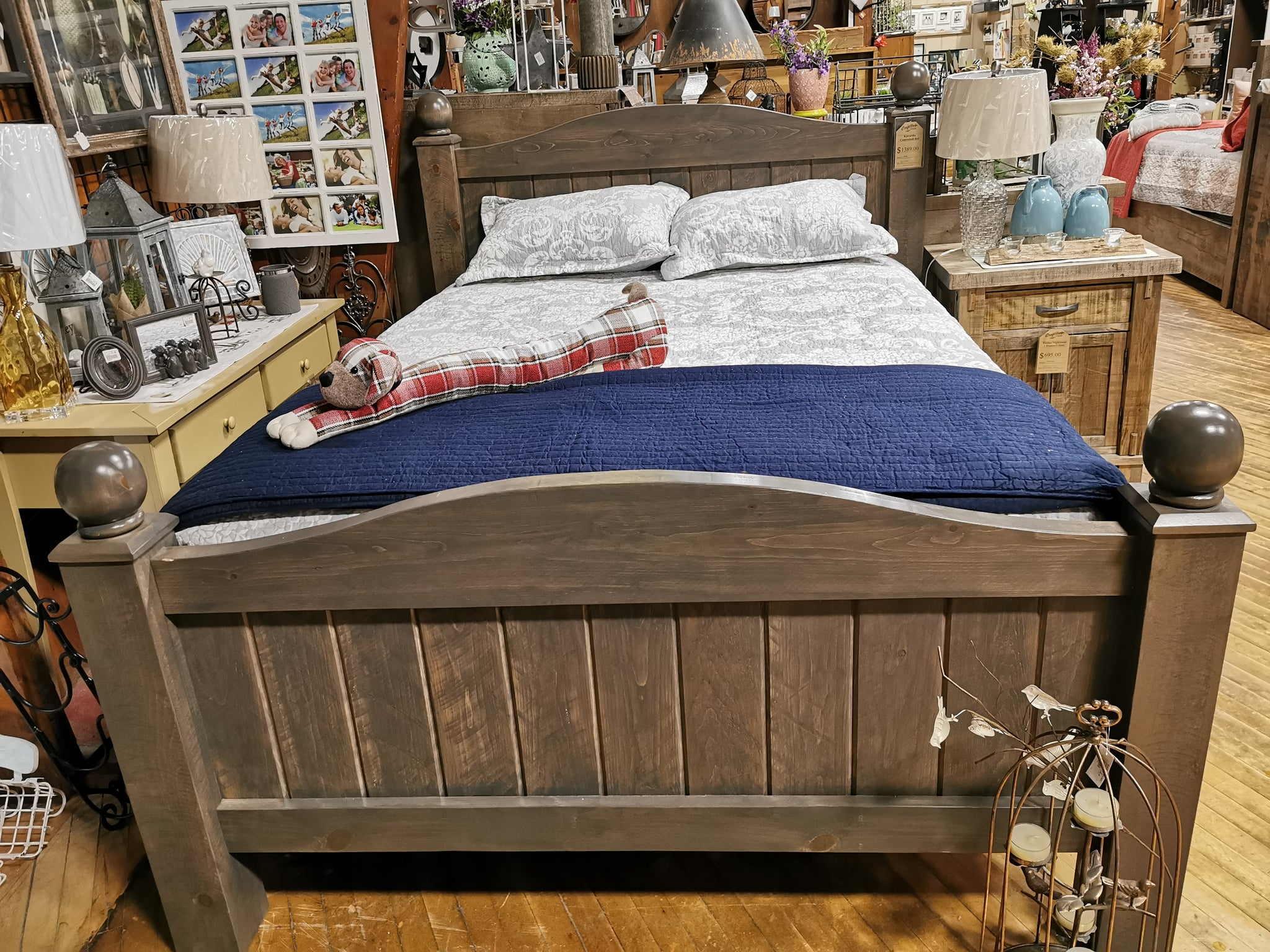 Kawartha Cannonball Queen Bed