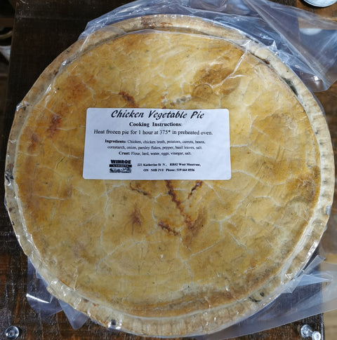 Large Mennonite Meat Pie - Frozen