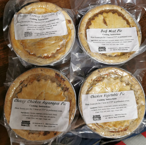 Small Mennonite Meat Pie - Frozen