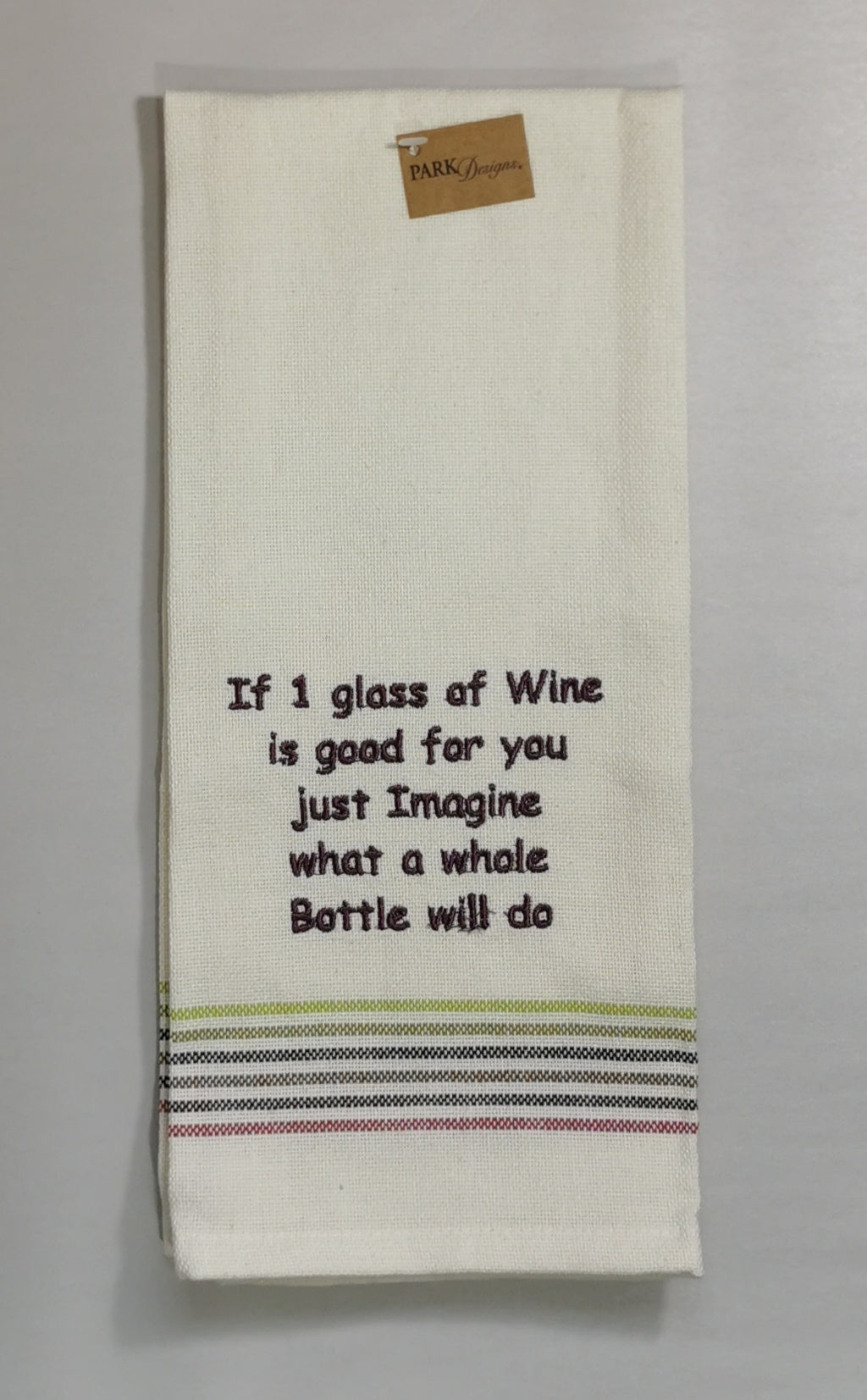 Dishtowel - If 1 glass