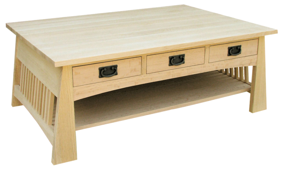 Horizon 6 Drawer Coffee Table