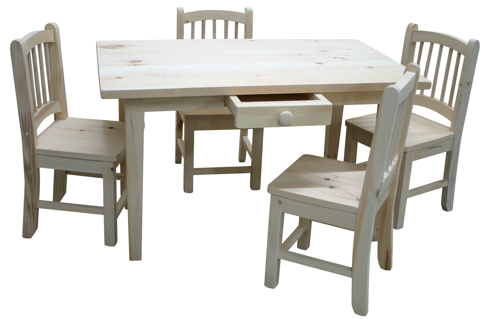 Merveilleux Rustic Kids Table With Chairs