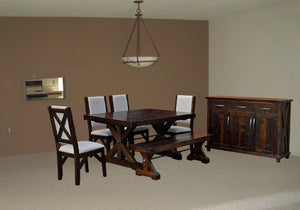 Klondike Trestle Dining Set