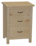 Lakeshore 3 Drawer Nightstand