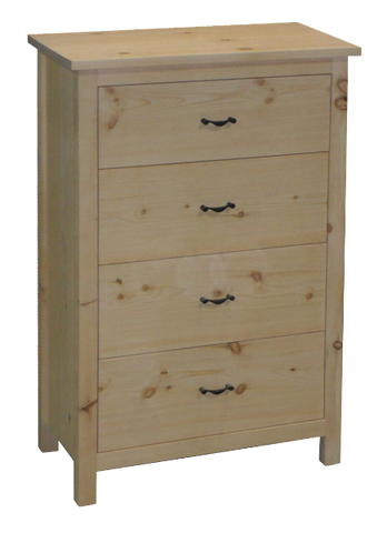 Lakeshore 4 Drawer Hiboy