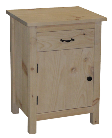 Lakeshore 1 Door 1 Drawer Nightstand
