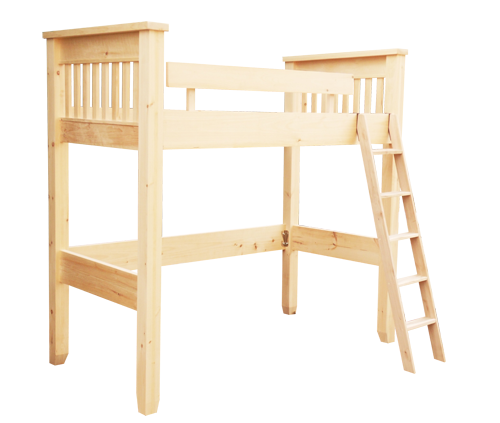 Dakota Rough Cut Loft Bed