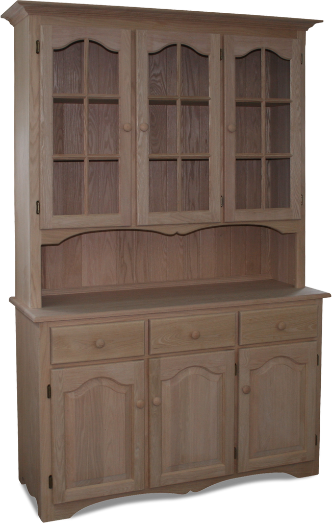 MFF-737 Arch Door Buffet with Hutch