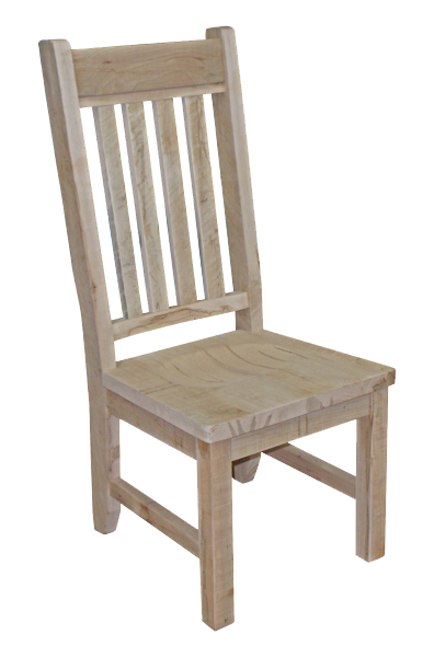 Millsawn Slat Back Side Chair
