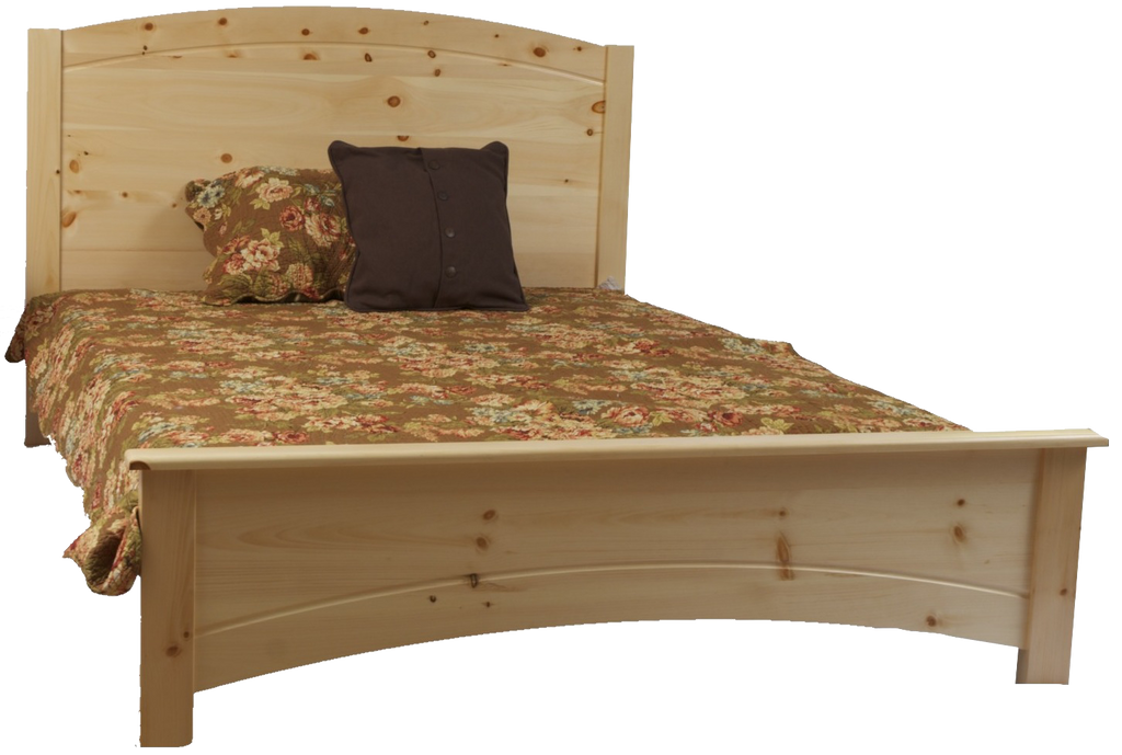 Muskoka Curved Panel Bed