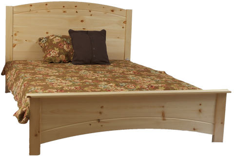 Muskoka Kids Curved Panel Bed
