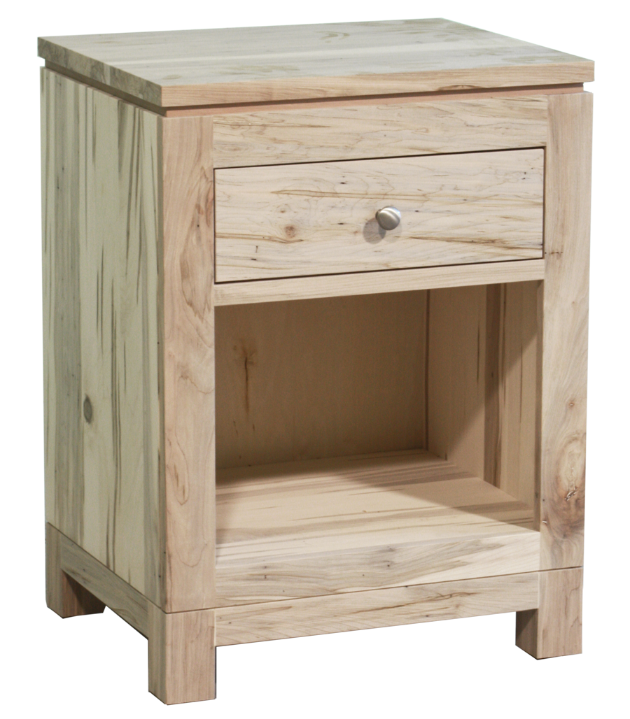 Metro 1 Drawer Open Nightstand