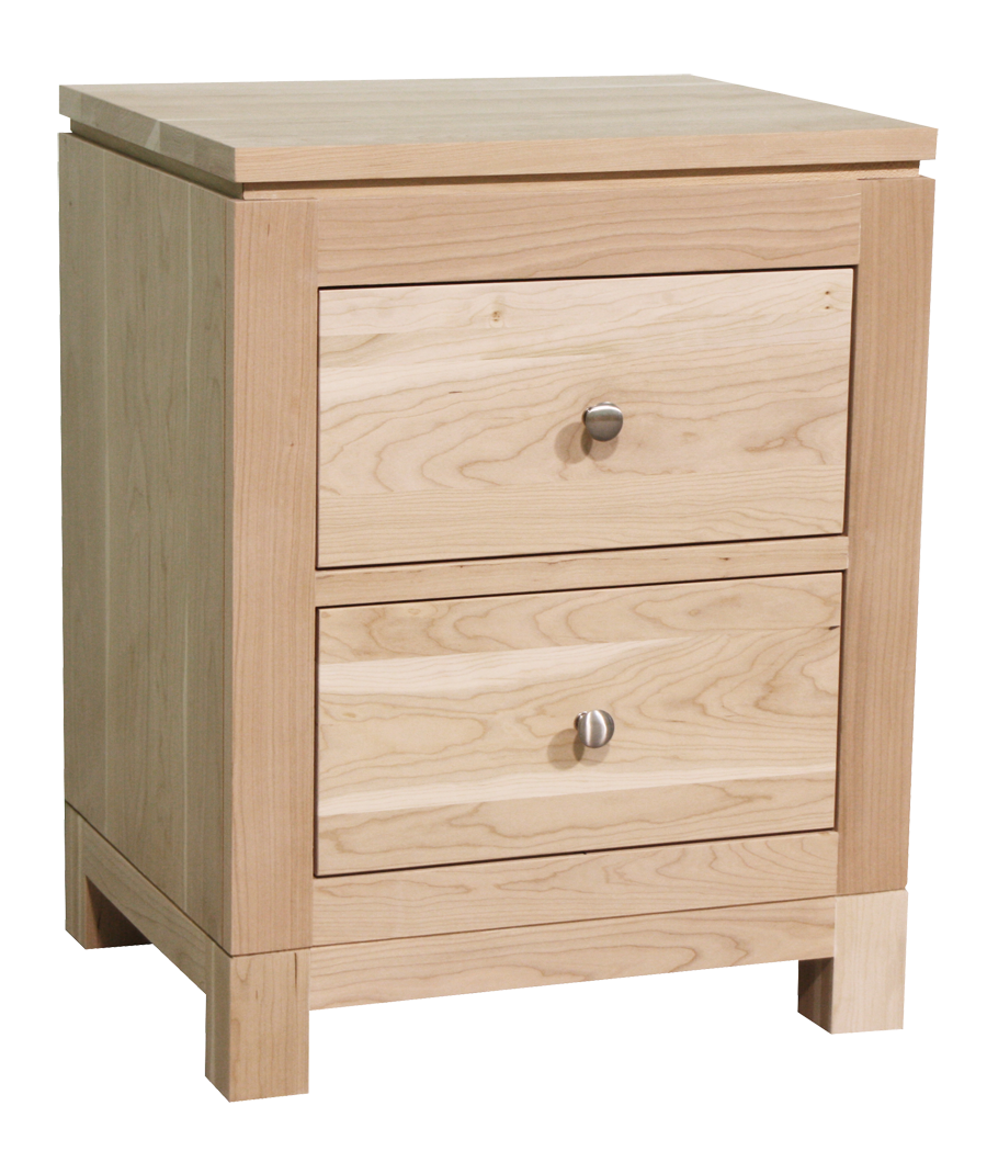 Metro 2 Drawer Nightstand