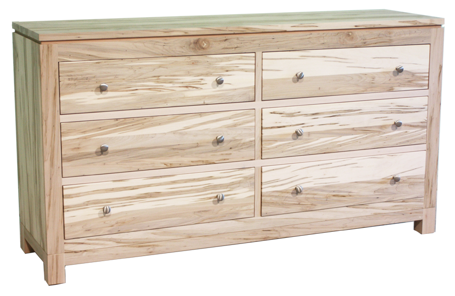 Metro 6 Drawer Wide Dresser