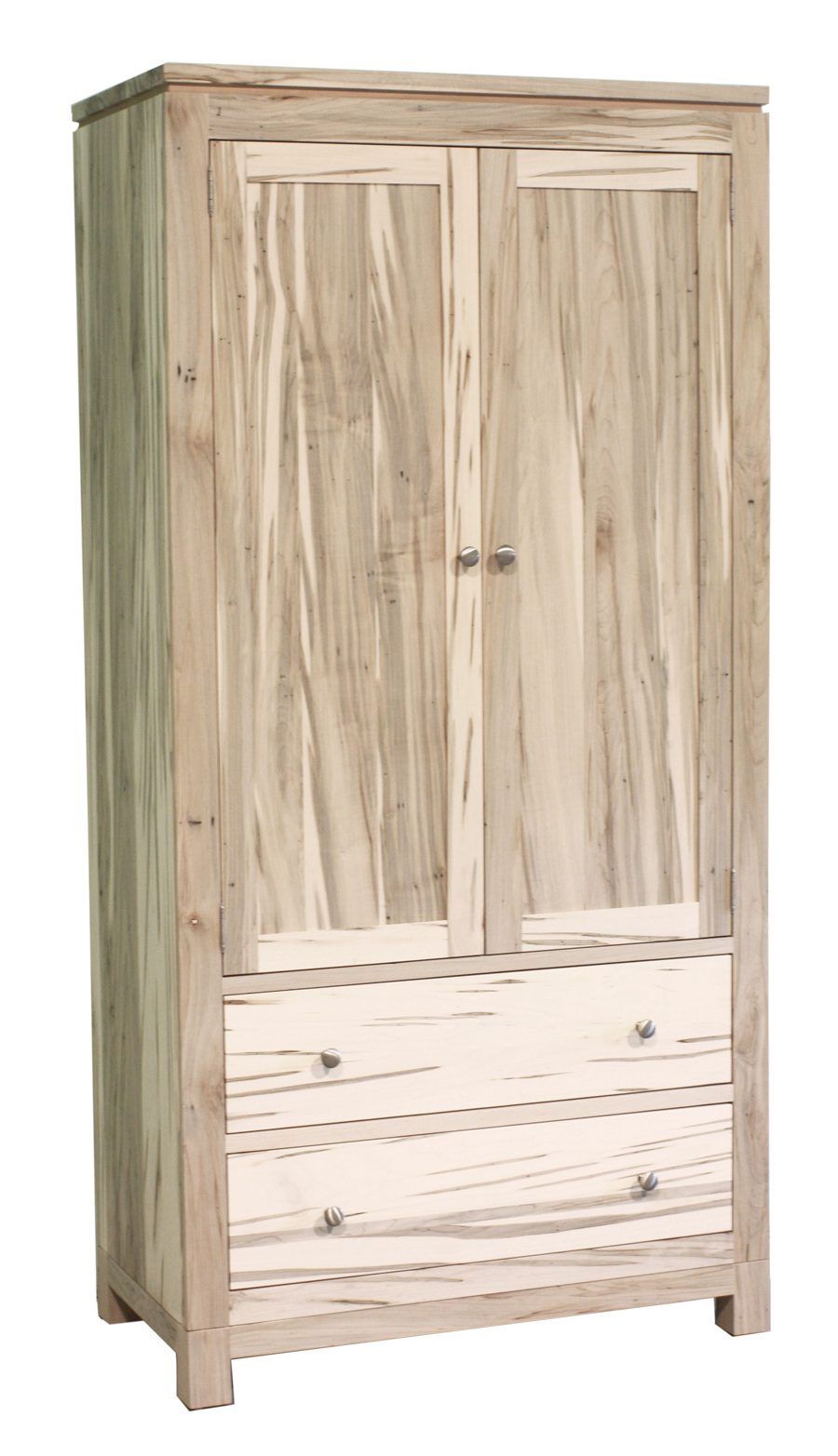 Metro 2 Drawer 2 Door Armoire