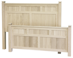 Metro Panel Bed with High Footboard