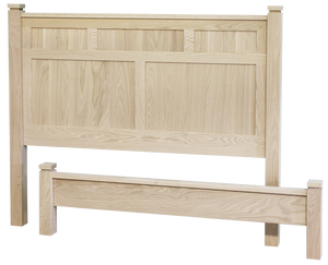 Metro Panel Bed with Low Footboard