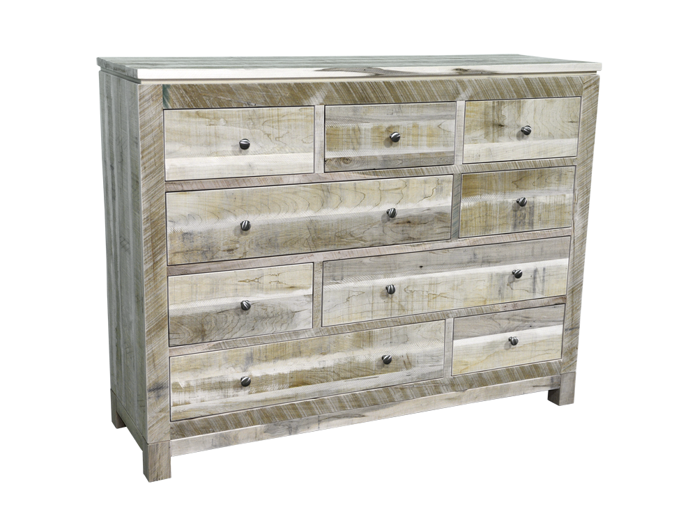 Rough Cut Metro 9 Drawer Dresser