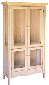 "Legacy 40"" 4 Door 2 Drawer China Cabinet"