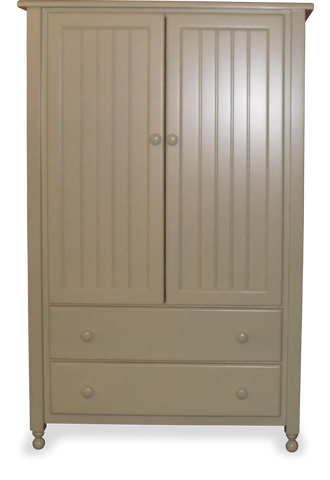 Nantucket 2 Drawer 2 Door Armoire