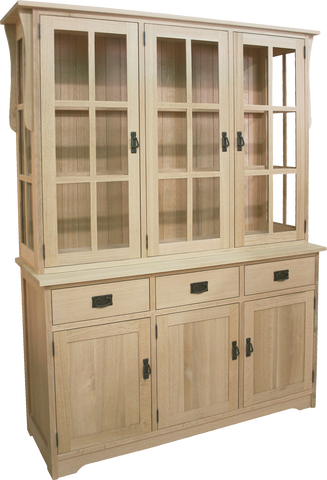 Mission 2 Door / 3 Door / 4 Door Buffet with Hutch