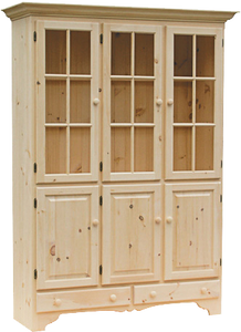 Legacy Old Country 6 Door China Cabinet